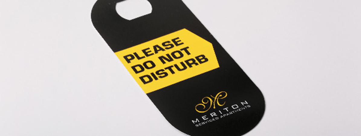 Die Cut Door Hanger