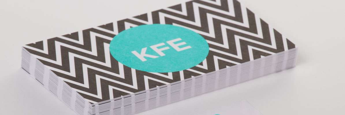KFE Bonded Business Cards - 400gsm