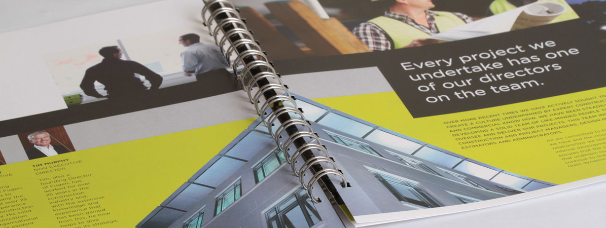 Spiral Bound Books Wiro Booklet digital print Fast Print Services