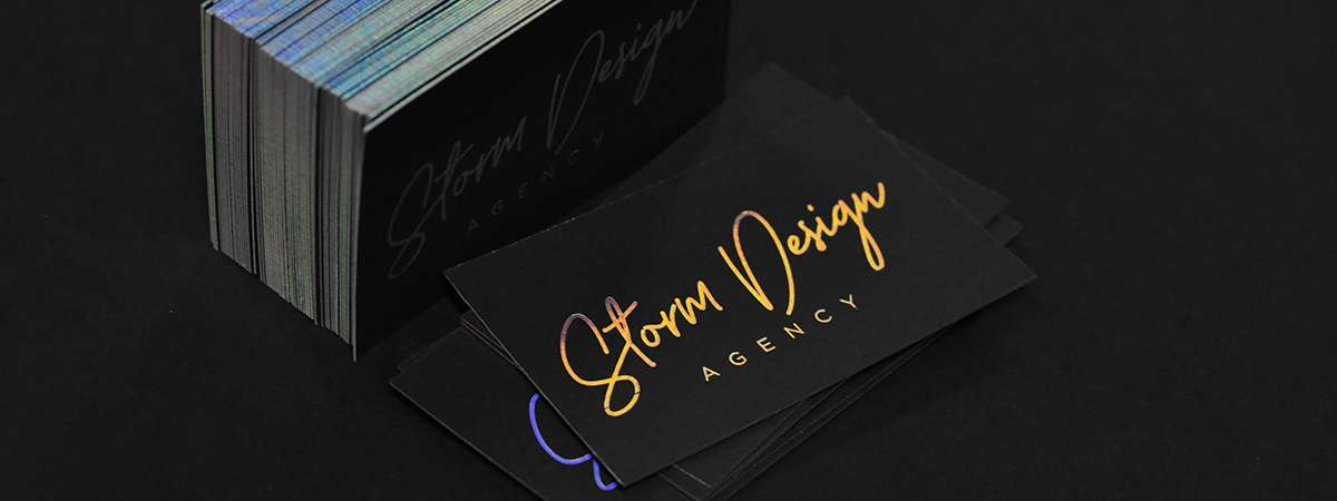 Storm Design Business Cards