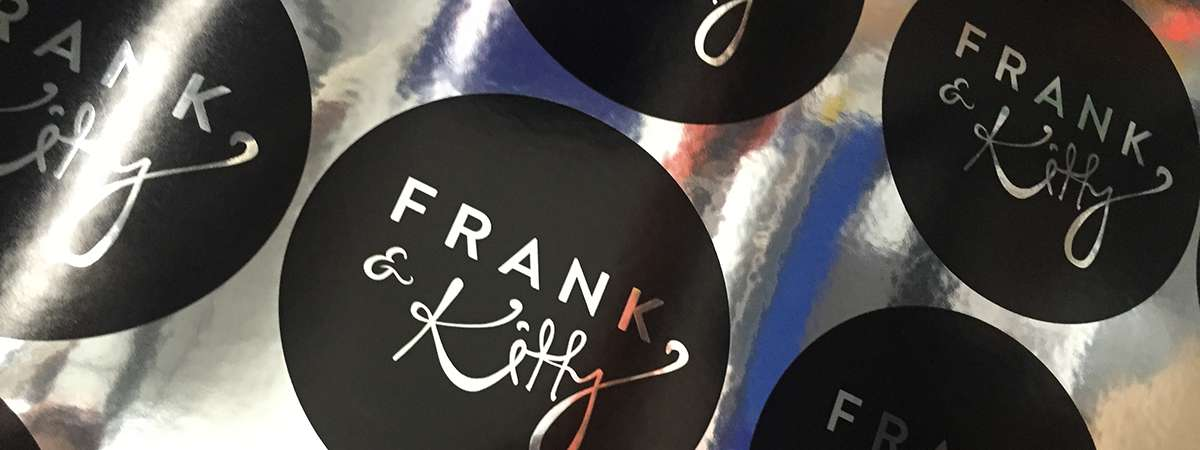 Frank & Kitty Foil Stickers