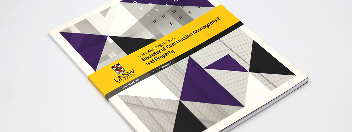 UNSW Booklet - Perfect Bound