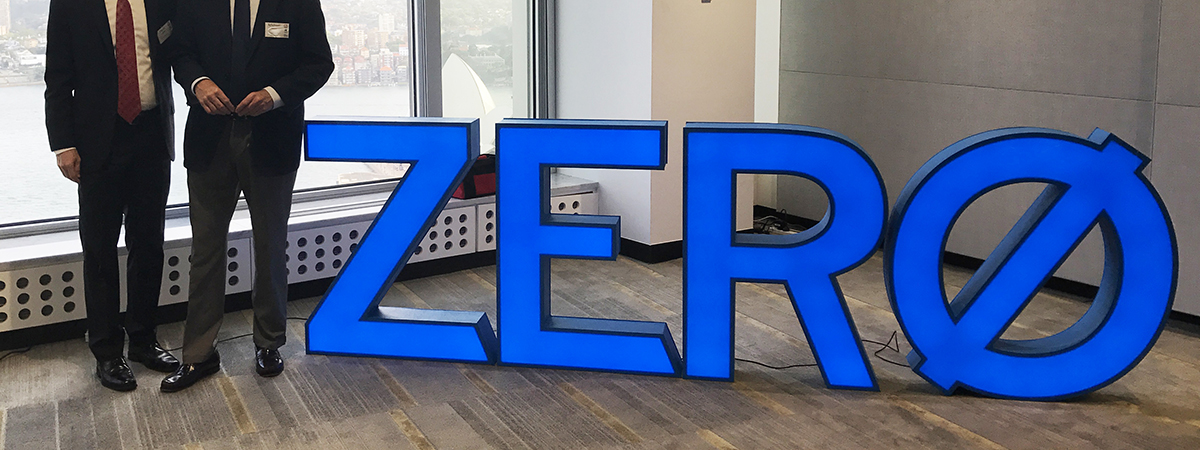 Illumined 3D Foam Letters with Acrylic Face