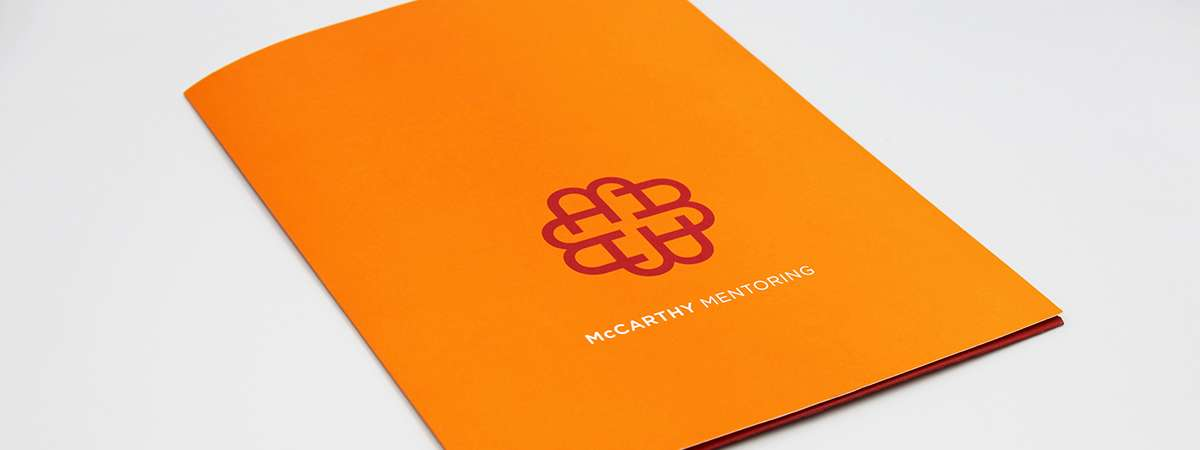 Presentation Folder - PMS Spot Colour - Uncoated Stock