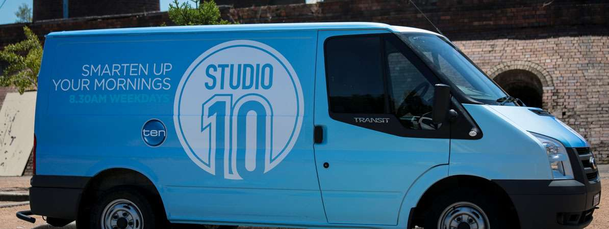 Channel Ten Vehicle Graphics