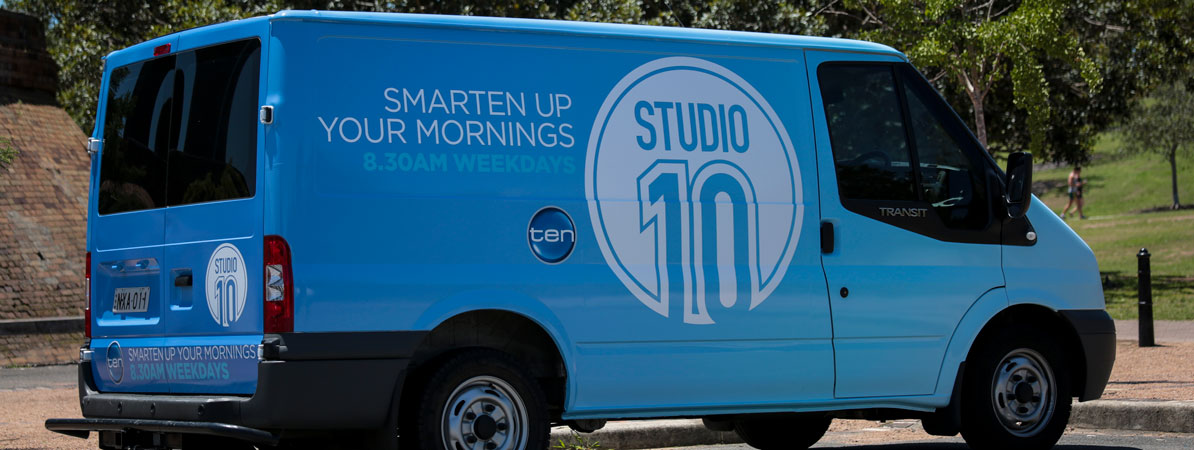 Channel Ten Car / Van Wrap