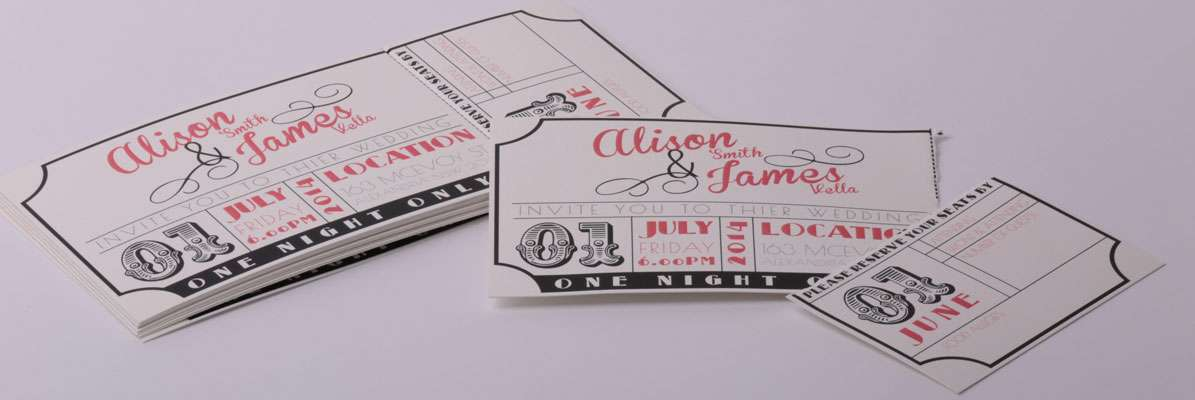 Wedding Invitations - Fast Print Services