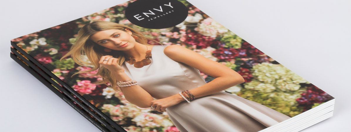 Envy: Perfect Bound Lookbook Fast Print Services