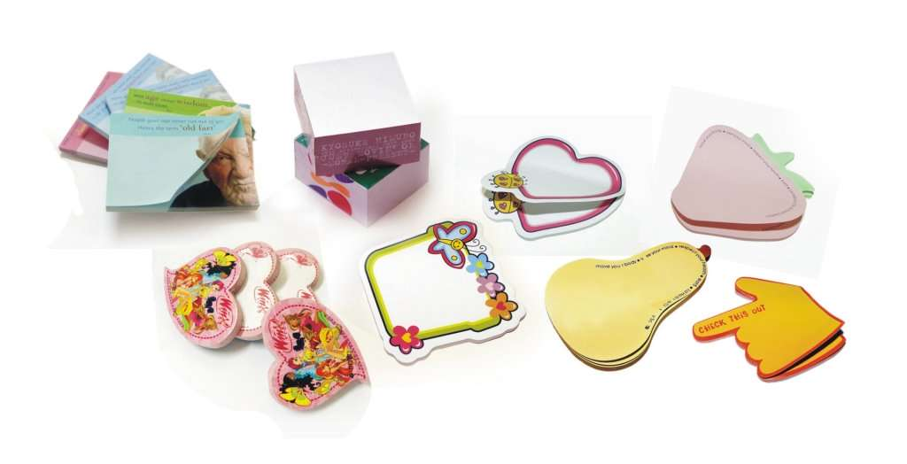 Die Cut Post It Notes